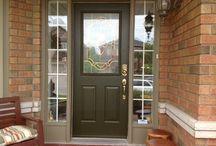 Door Refinishing and Repainting