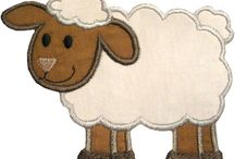 Lamb applique