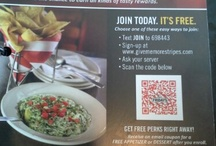 QR Codes in Restaurants / Here are some pins of QR codes found in restaurants