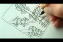 How to draw tanglepattern