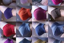 Socks - Knit / Socks and their heels knitted