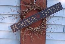 Pumpkin thyme