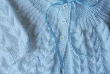 Receitas de tricô para bebê
