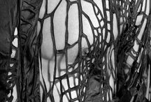 Gcse art- distortion textiles