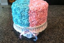 Gender Reveal cakes / by Jessica Ramos