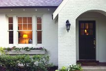 Cottages and Beautiful Exteriors / Lovely home exteriors. Architecture, design, exterior facades.