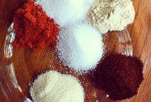 Mixes and sauces