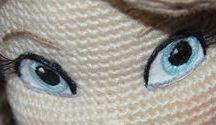 ojos amigurumis