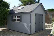 Storage Sheds, Studios & Backyard Retreats / These dreams sheds enhance any backyard.  Perfect for storage, home office, studio, garden shed. Designed and built by Amish workers in Pennsylvania, then assembled on site by our own crews. Display lots in Rocklin and Auburn, California, and available in the San Francisco Bay Area and SoCal as well.