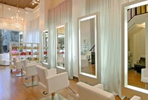 All white salon