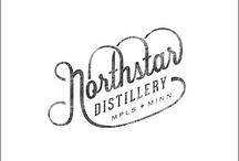 Distillery Logo Ideas / by Renae Brewer Wood