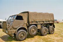 leger voertuigen