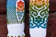 Strikking / Votter-sokker - jakker
