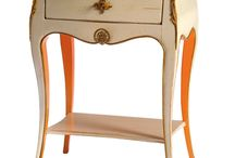Lovely French Painted Furniture / Ooh la la! Our French Painted collection specialises in high-end traditional furniture with a continental feel. Our hand-picked selection ranges from very traditional pieces reflective of the 17th century, to more rustic pieces - all inspired by French culture.