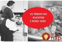 triky do kuchyně