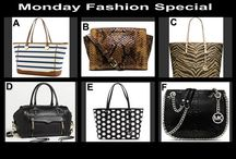 Monday Fashion Special August 11 at 10 PM / Designer Choice Auction for Handbags at OneCentChic.com