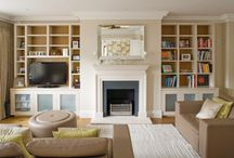 Bespoke Units / Peter Bernard Designer Kitchens extends services to areas around the home including Bespoke Furniture for bedroom, bespoke units for bathrooms and bespoke units for books in living rooms.