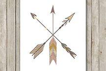 Arrows and Feathers / Find your inner warrior