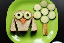 Kiddie Nibbles / Food tastes better when it's cute, right? Here's some inspiration for making your kids' meals completely irresistible.