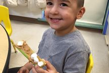 Special Fun Day Fun! Ants on a log snack! / First School provide a perfect balance of academic and social instruction for your kids. Oh what fun at First School! Special Fun Day Fun! Ants on a log snack! Yummy!