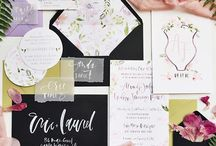 Calligraphy invitation inspo