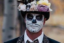 Disfraz sugar skull
