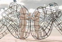 Burning Man 2018 / #leftbehind #leavebehind #sculpture #oversize #nets #enviroart  #burningman #burningmanDC