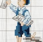 Cross stitch - boys