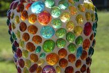 mozaiek donut glas