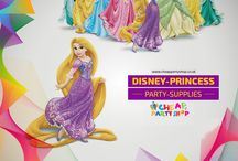 Kids Party Supplies / Wonderful range of Disney Princess Party Supplies, decorations, party bags & favors, invitations, games, balloons and ideas to make your kids party special