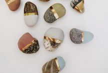 Stones as works of art