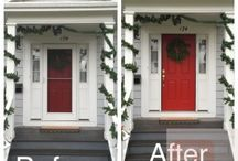 HOME || Curb Appeal / Curb Appeal design and inspiration from life & style blogger Pinteresting Plans.