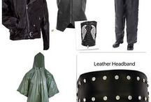 Ladies Motorcycle Gear / Motorcycle Gear Leather Jackets and Leather Vest