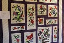 Jacobean quilts