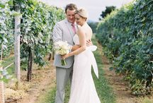 Sarah & Ashby's Virginia Vineyard Wedding  / Event Design and Coordination by Urban Lace Events  www.urbanlaceevents.com