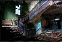 abandoned buildings / by Gwen Robinson