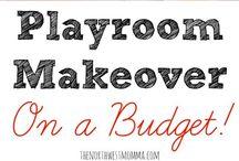 playroom make over