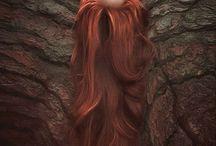Βαμμενα κοκκινα μαλλια