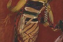 Art: John Singer Sargent / American painter 1856-1925.