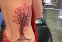 tattoo levensboom