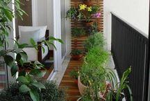 Balkon + zahrada