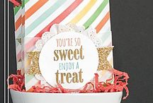 Stampin' Up! Framelit projects