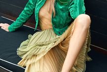 Ruffle, Chiffon, tulle and pleated Skirts / by Sabrina Beaumont