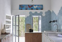 BLUE KITCHENS Inspiration / BLUE KITCHENS Ideas