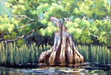 Rivers / Paintings of Florida Rivers
