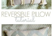 Pillows / CUTE pillows and some pillow diy tutorials too.