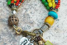 Funky jewellery. ....love