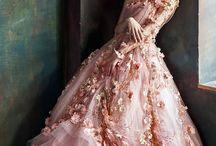kebaya and gown sew proj