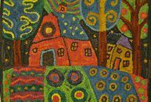 Needlework / Hook rug