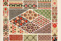 Ornamente / Byzantine Orhodox Decoratiuni Bizantin  Frame Borders